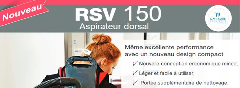Aspirateur dorsal RSV 150 NACECARE